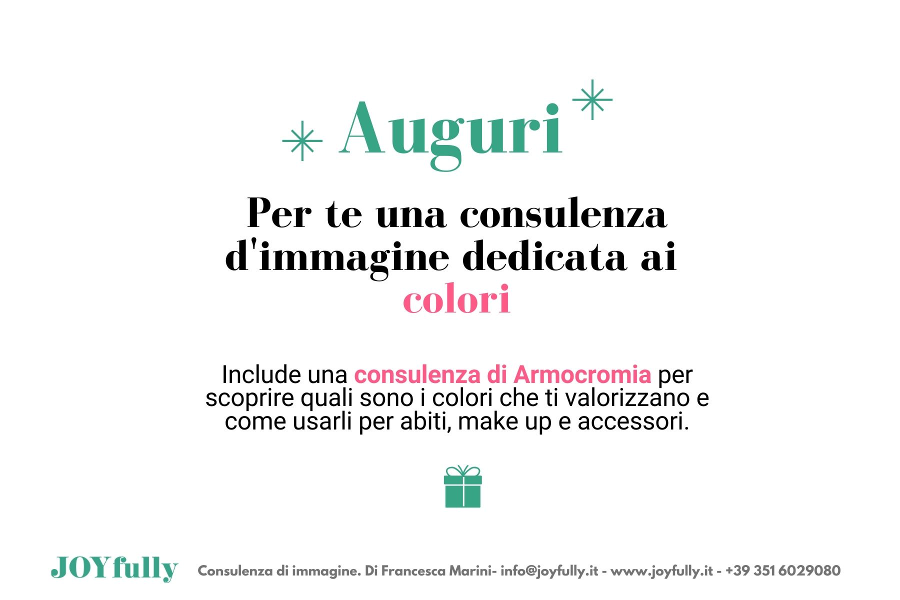 gift card armocromia