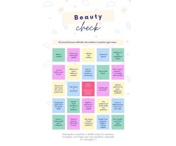 beauty check
